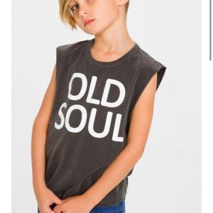 Chaser Old Soul Black Muscle Tank